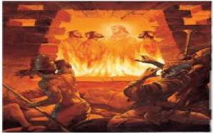 fiery furnace Hebrew three 2