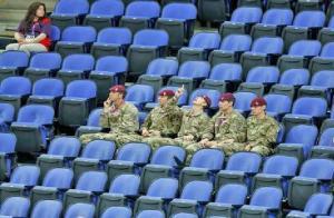 olympics empty seats