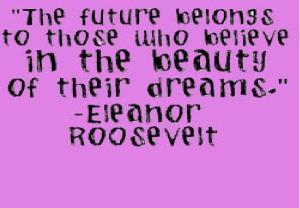 future belongs to
