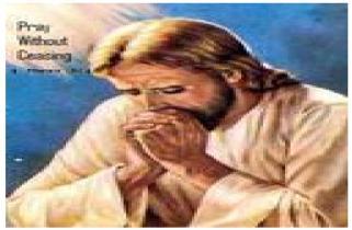 jesus interceding