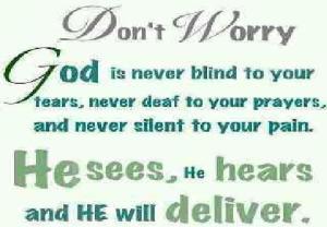 healing he sees