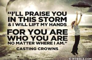 praise in the storm