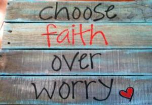 faith over worry
