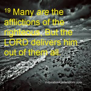 afflictions ps34 19