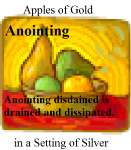apples anointing