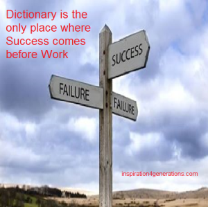 dictionary and success