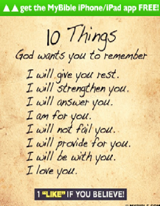 ecard 10 things to remember