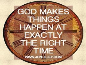 ecards God's time