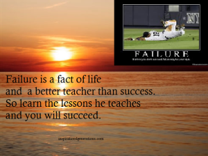 failure a better teacher