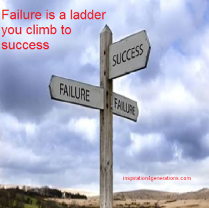 failure is a ladder