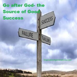 go after God