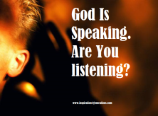 God is speaking ru listening1
