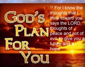 God's plan