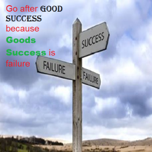 good Success vs goods success