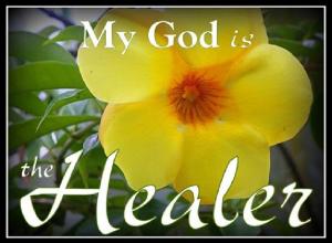 Healer my God