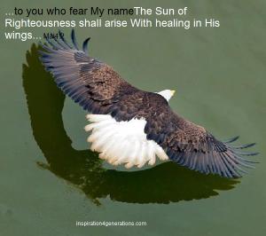 healing rising with healing in wings
