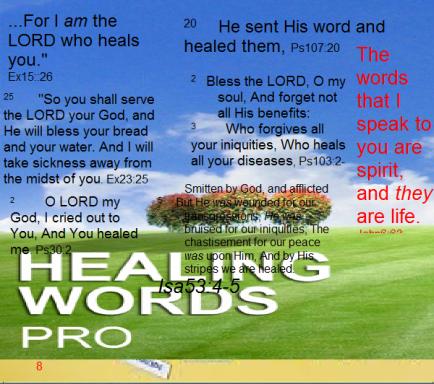 healing words pro