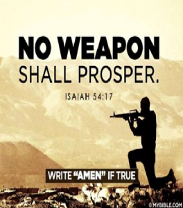 no weapon