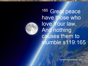 peace4 Ps119 165