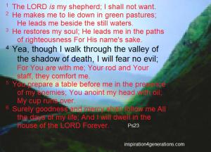Ps23 shepherd Psalm