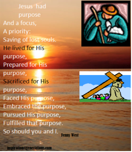 purpose jesus