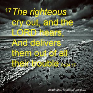 the righteous cry out ps34 17