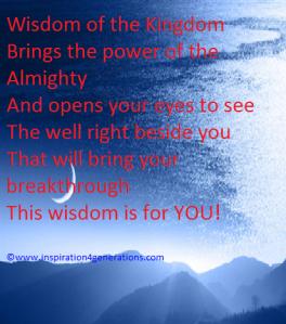 wisdom of the kingdom4