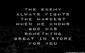 enemy fights hardest