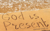 God is present