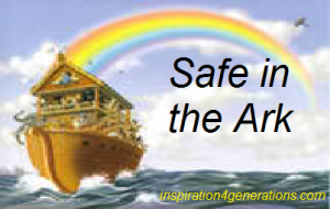 safe in  the ark