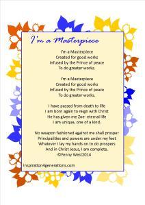 masterpiecew ith poem all