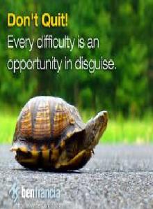 slow pace don't quit