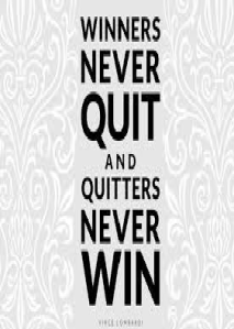winners never don't quit