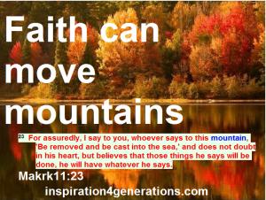 faith can move mts