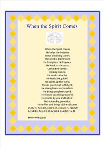 holy Spirit 1