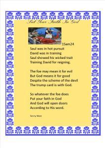 Put your faith In God