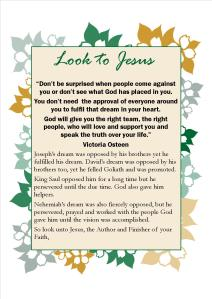 look to Jesus