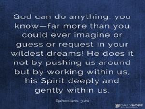 daily hope Dream