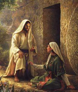 resurrection angel & Mary