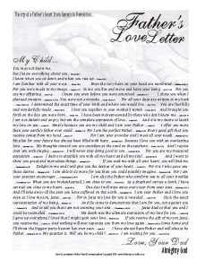 Fathers love letter2
