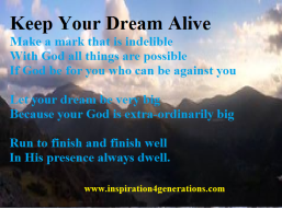 Keep Your Dream Alive2