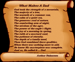 God made Dad