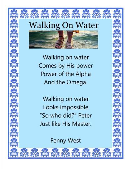 walking on Water1
