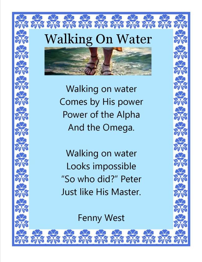 walking on Water1