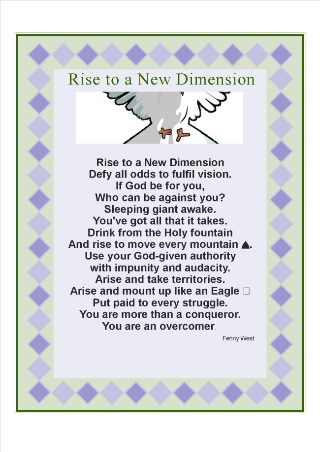 rise to a new dimension(2)