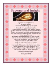 supernatural insight all