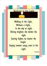 walking in the lightb