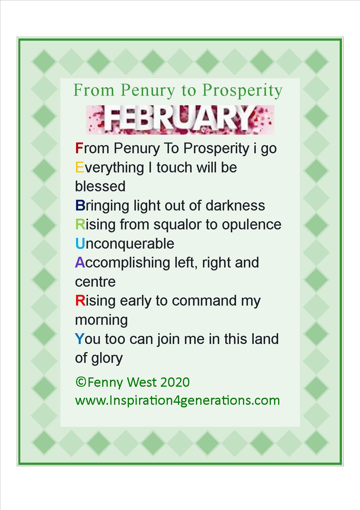 feb3 from penury to prosperity