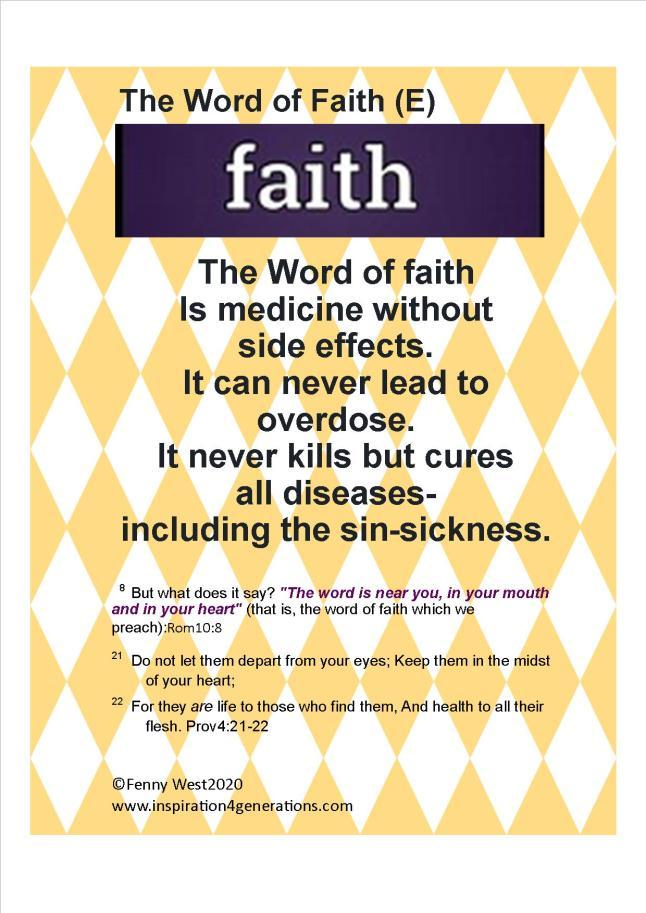 Word of Faith(e)