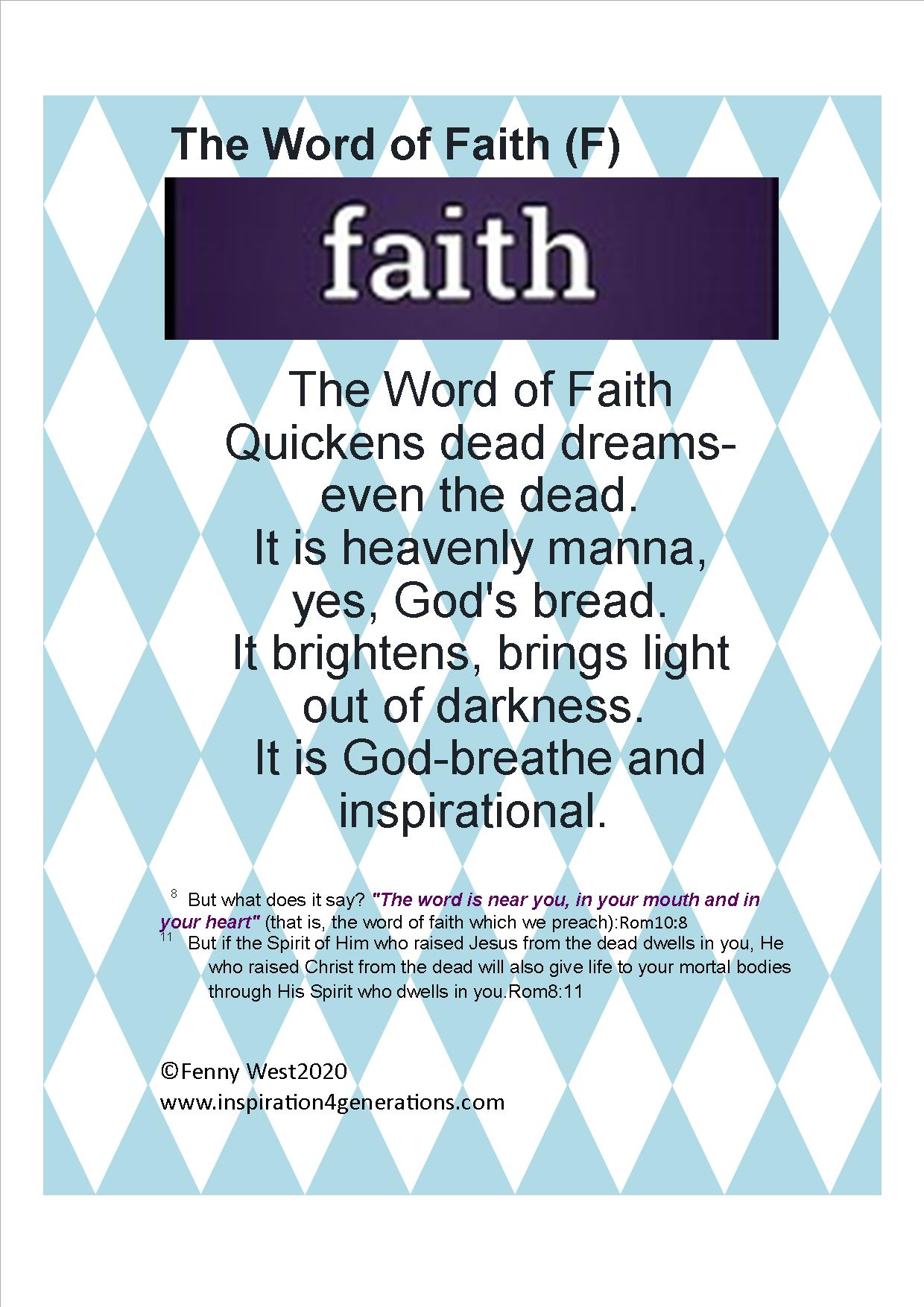 Word of Faith(f)